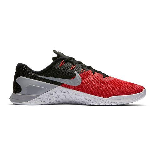 Mens Nike MetCon 3 Cross Training Shoe - Black/White 12.5