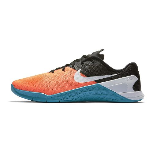 Mens Nike MetCon 3 Cross Training Shoe - Orange/Blue 10