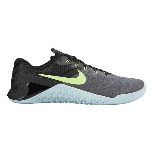 Womens Nike MetCon 3 Cross Training Shoe - Charcoal/Blue 9.5