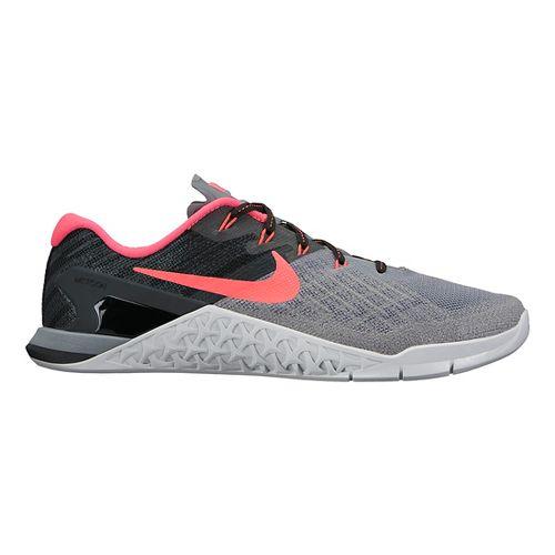 Womens Nike MetCon 3 Cross Training Shoe - Black/White 10.5