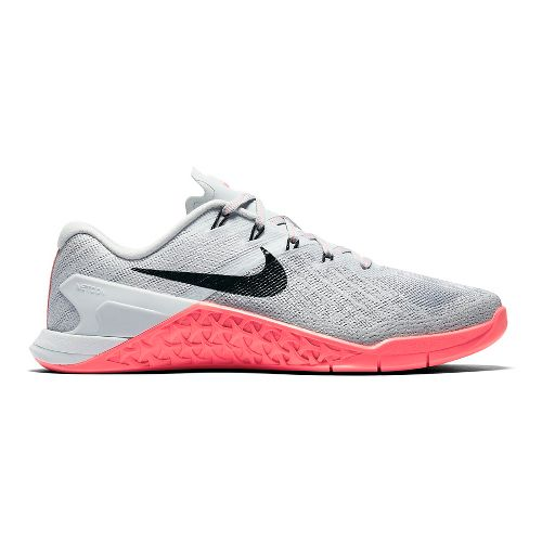 Womens Nike MetCon 3 Cross Training Shoe - Grey/Pink 10