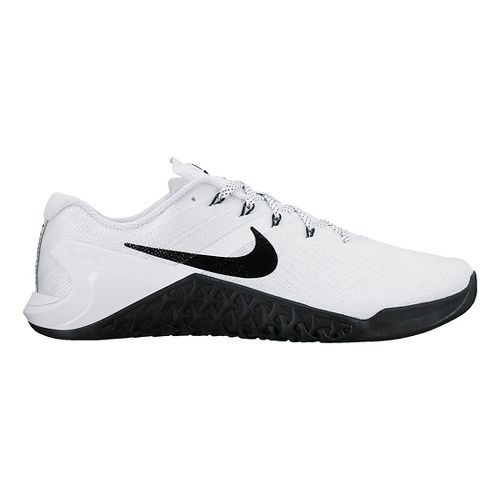 Womens Nike MetCon 3 Cross Training Shoe - White/Black 10.5