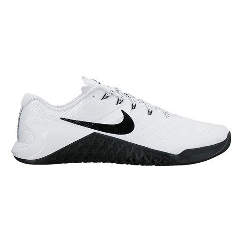 Womens Nike MetCon 3 Cross Training Shoe - White/Black 9