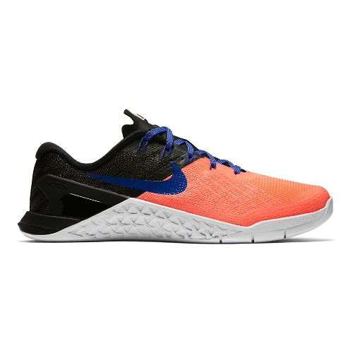 Womens Nike MetCon 3 Cross Training Shoe - Lava/Black 9.5