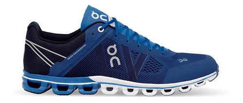 Mens On Cloudflow Running Shoe - Blue/Navy 8