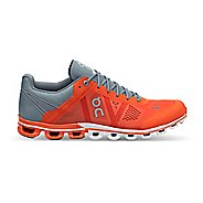 Mens On Cloudflow Running Shoe - Orange/Glacier 9