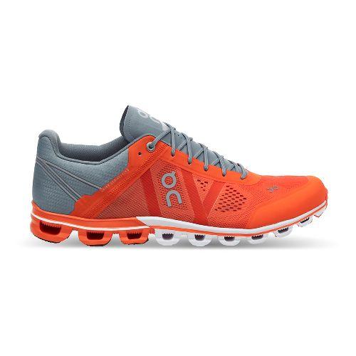 Mens On Cloudflow Running Shoe - Orange/Glacier 11