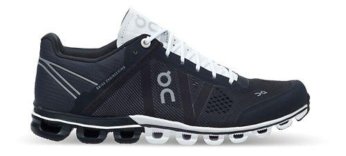 Womens On Cloudflow Running Shoe - Black/White 9
