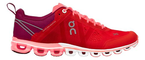 Womens On Cloudflow Running Shoe - Spice/Flash 8.5