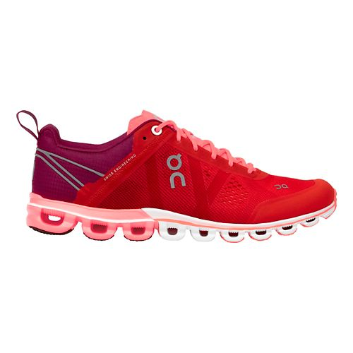 Womens On Cloudflow Running Shoe - Spice/Flash 8