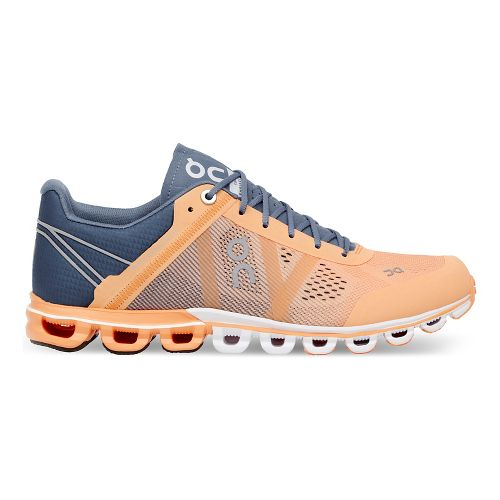 Womens On Cloudflow Running Shoe - Almond/Grey 6.5