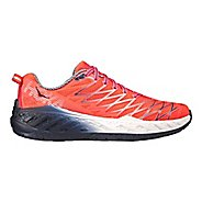 Womens Hoka One One Clayton 2 Running Shoe - Neon Coral 9