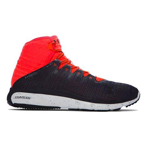 Mens Under Armour Highlight Delta  Running Shoe - Grey/Bolt Orange 11.5