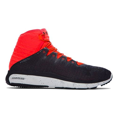 Mens Under Armour Highlight Delta  Running Shoe - Grey/Bolt Orange 8.5