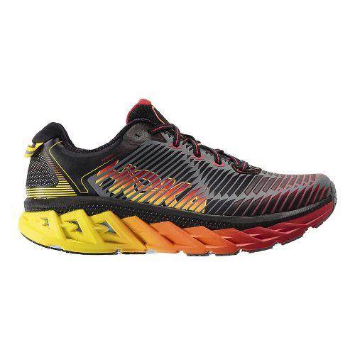 Mens Hoka One One Arahi Running Shoe - Navy/Gold 10.5