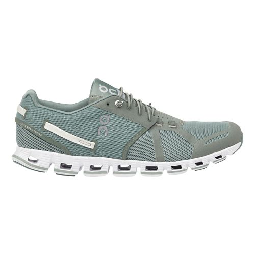 Mens On Cloud Monochrome Running Shoe - Moss 10.5