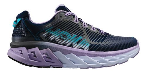 Womens Hoka One One Arahi Running Shoe - Medieval Blue/Purple 5.5