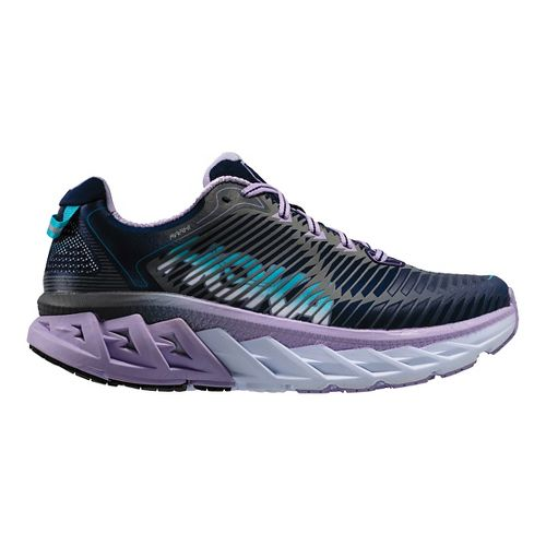 Womens Hoka One One Arahi Running Shoe - Medieval Blue/Purple 5.5