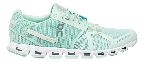 Womens On Cloud Monochrome Running Shoe - Turquoise 6.5