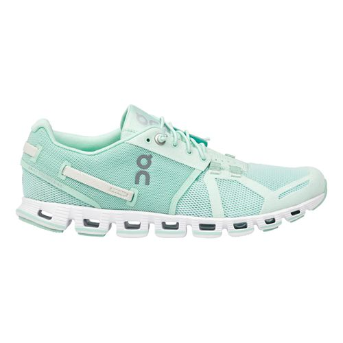 Womens On Cloud Monochrome Running Shoe - Turquoise 8.5