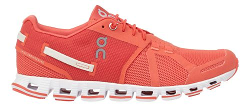 Womens On Cloud Monochrome Running Shoe - Lava 11