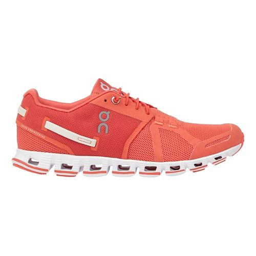 Womens On Cloud Monochrome Running Shoe - Lava 9