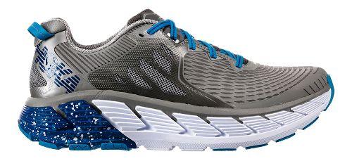Mens Hoka One One Gaviota Running Shoe - Dove/Blue 8
