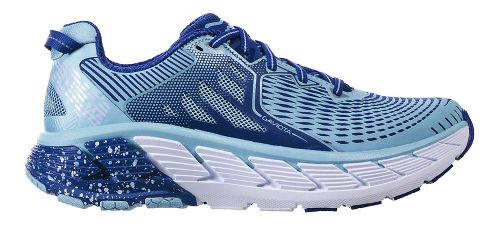 Womens Hoka One One Gaviota Running Shoe - Sky Blue/Surf 8