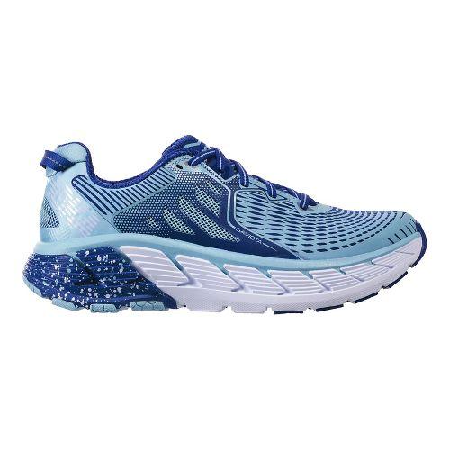 Womens Hoka One One Gaviota Running Shoe - Sky Blue/Surf 5.5