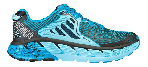 Womens Hoka One One Gaviota Running Shoe - Light Blue/Blue 7