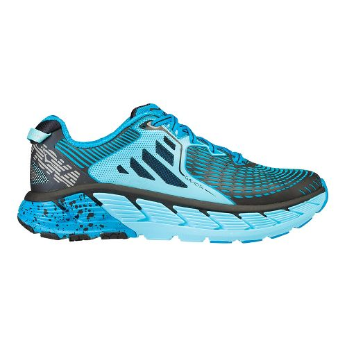Womens Hoka One One Gaviota Running Shoe - Light Blue/Blue 6.5