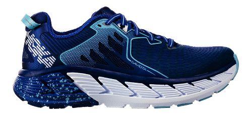 Womens Hoka One One Gaviota Running Shoe - Blue/White 10.5
