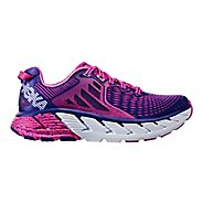Womens Hoka One One Gaviota Running Shoe - Fuchsia/Liberty 7.5