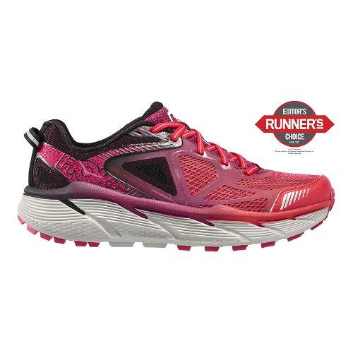 Womens Hoka One One Challenger ATR 3 Trail Running Shoe - Neon/Pink 7.5