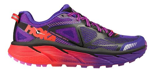 Womens Hoka One One Challenger ATR 3 Trail Running Shoe - Purple/Pink 7