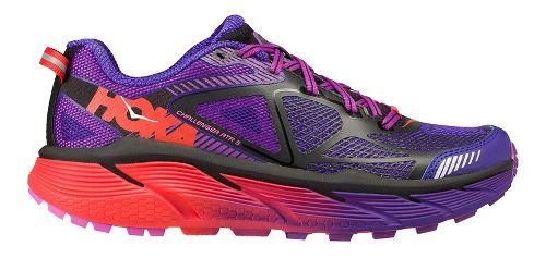 Womens Hoka One One Challenger ATR 3 Trail Running Shoe - Purple/Pink 7.5