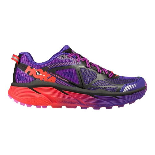 Womens Hoka One One Challenger ATR 3 Trail Running Shoe - Purple/Pink 6.5