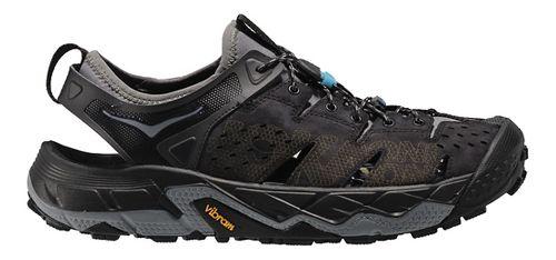 Mens Hoka One One Tor Trafa Hiking Shoe - Black/Grey 9