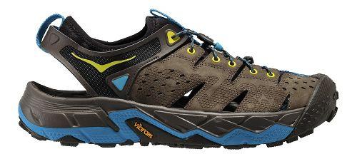Mens Hoka One One Tor Trafa Hiking Shoe - Brown/Olive 8
