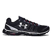 Mens Under Armour Micro G Attack 2 Running Shoe - Black/Black 11.5