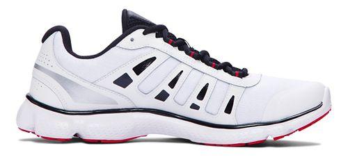 Mens Under Armour Micro G Attack 2 Running Shoe - White/White 11