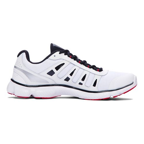Mens Under Armour Micro G Attack 2 Running Shoe - White/White 11