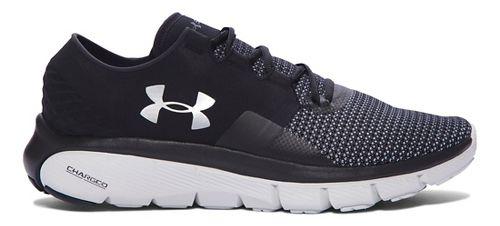 Mens Under Armour Speedform Fortis 2 Running Shoe - Black/Glacier Grey 14