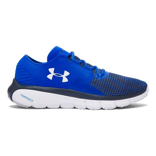 Mens Under Armour Speedform Fortis 2 Running Shoe - Ultra Blue/White 10