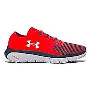 Mens Under Armour Speedform Fortis 2 Running Shoe - Rocket Red/Grey 10.5