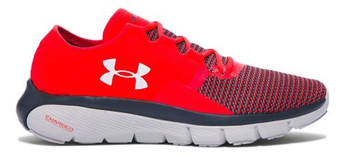 Mens Under Armour Speedform Fortis 2 Running Shoe - Rocket Red/Grey 13