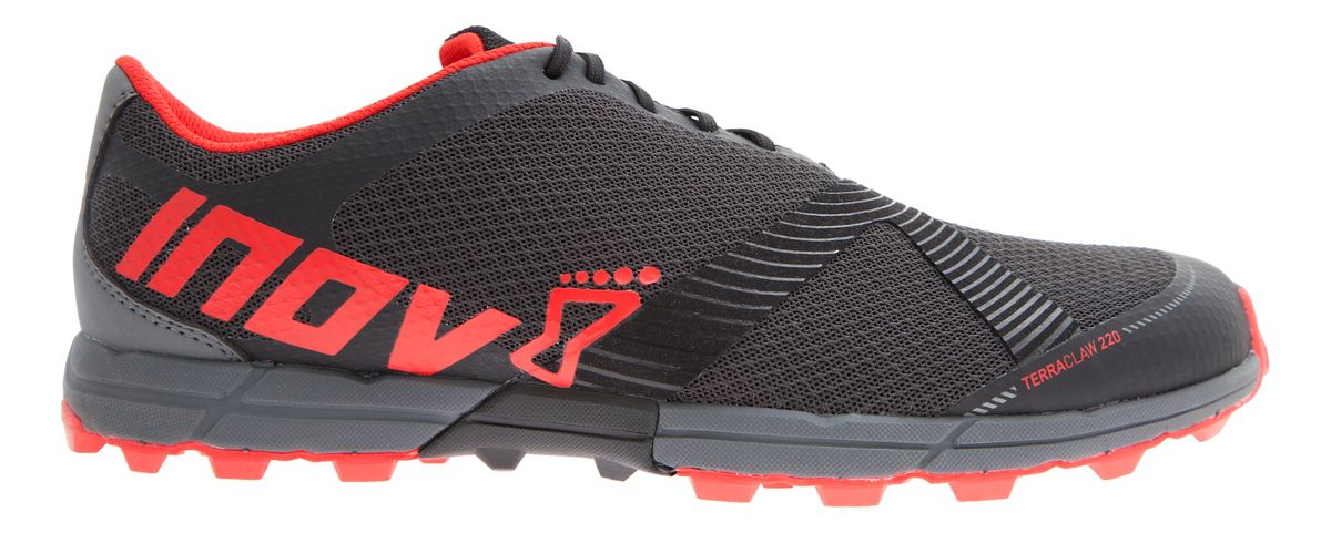 mens inov 8 terra claw 220 trail running shoe at road