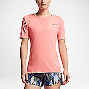 Womens Nike Zonal Cooling Relay Short Sleeve Technical Tops