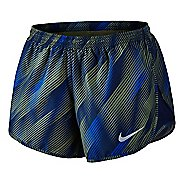 Womens Nike Dry Printed Tempo Lined Shorts
