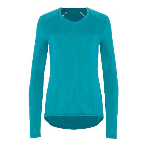 Womens Tasc Performance Jubilee Long Sleeve Technical Tops - Marlin XL